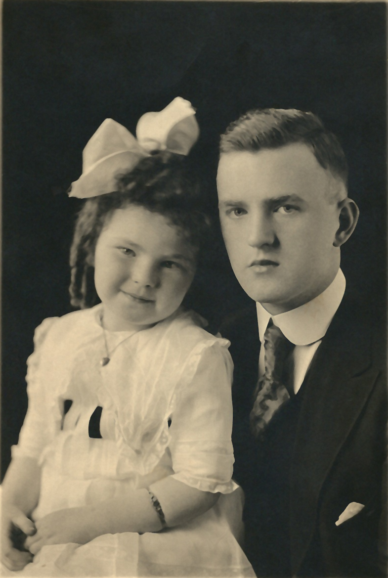 Mary and Ted Molloy, circa 1918